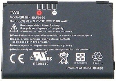 P3450 Elf (Replacement Battery HTC Vogue XV6900, Touch MP6900, P3450 Battery)