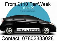 Uber Ready - Toyota Prius - from £110 per/week - Only few cars Left