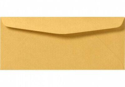 10 Brown Kraft Regular Envelopes - 24lb. 4 18 X 9 12 - 50 Per Pack