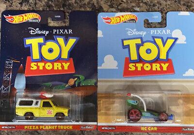 Hot Wheels Premium Retro Entertainment Toy Story Pizza Planet Toyota Truck Pixar