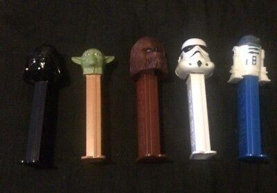 5 Star Wars Pez