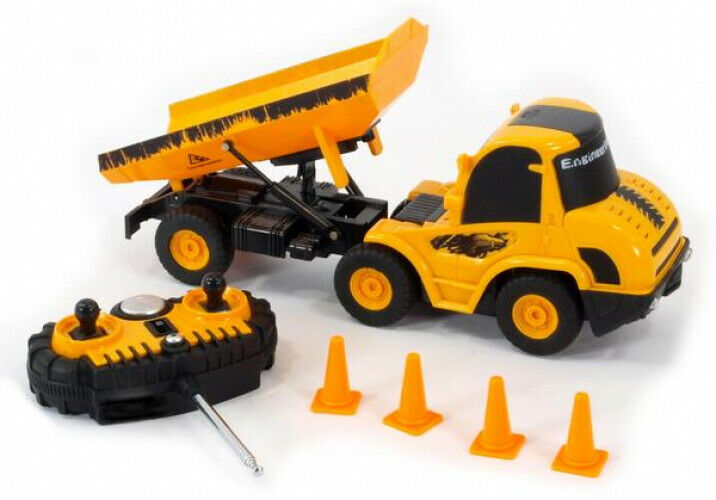 Remote Control Dump Truck Radio Control Mini Engineering Car Construction 1:20
