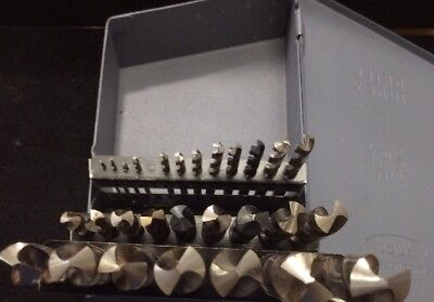 Huot 116 To 12 Cobalt Drill 28-piece Index Bit Set - By 164