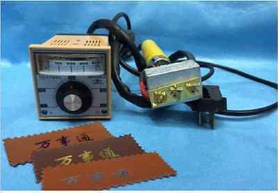 New Manual Hot Foil Stamping Marking Machine Leather Pvc Printer Logo