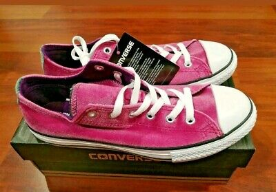 Converse Chuck Taylor OX All Star Low Trainers Shoes Pink Sapphire uk5 (Converse Chuck Taylor All Star Slim Ox Trainers)
