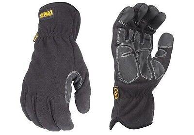 Dewalt Work Gloves Dpg740 Lg Mild Condition Fleece Cold Weather Winter