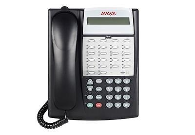 Fully Refurbished Avaya Partner Eurostyle 18d Series 2 Display Phone Black