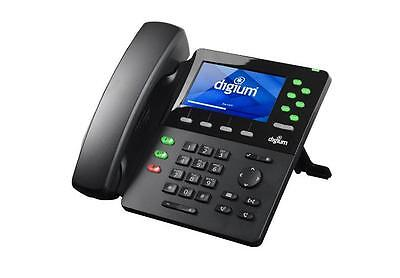 New Digium D65 Executive-level Hd Ip Phone Without Power Supply 1teld065lf
