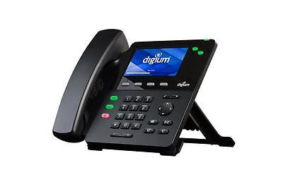 New Digium D62 Mid-level Hd Ip Phone Without Power Supply 1teld062lf