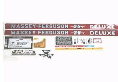 60398 Decal Kit Massey Ferguson 35 Deluxe
