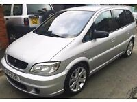 ZAFIRA GSI 7 SEATER FSH + my vivaro 6 seater van + CASH EITHER WAY or SWAPS see my other items