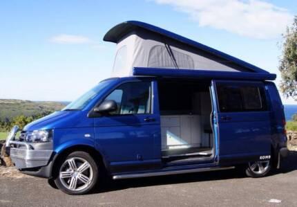 Volkswagen T5 Kombi Campervan, Automatic, Shower, Turbo Diesel Hillarys Joondalup Area Preview