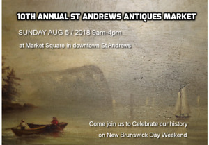 10th Annual St. Andrews Antiques Market
