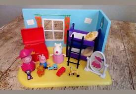Peppa pig dress up scene