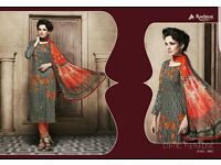 AMBICA COTTON STRAIGHT SALWAR SUITS WHOLESALE COLLECTION