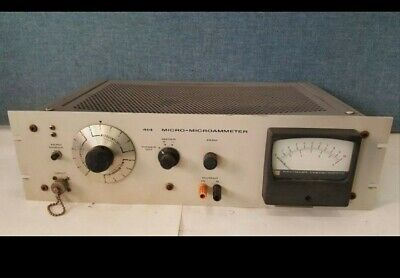 Keithley Instruments 414 Micro-microammeter Lab Read