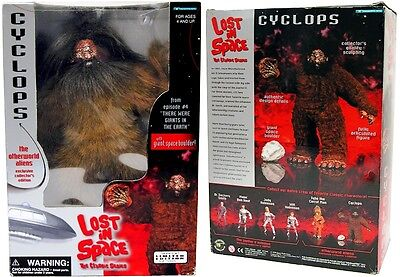 """LOST IN SPACE  CYCLOPS ONE-EYED GIANT 12"""" ACTION FIGURE"""
