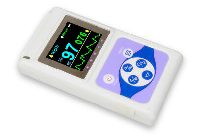 Fingertip Pulse Oximeter 24hrs Sleep Recorder Blood Oxygen Spo2 Monitorsoftware