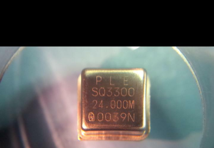 LOT OF (33) NEW PLETRONICS SQ3300-24.000MHZ
