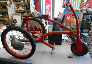 Tricycle Jockey Cycle Antique
