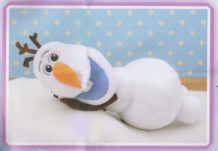 SEGA Prize Frozen Olaf Jumbo Plush Lying Down Version 13 inches