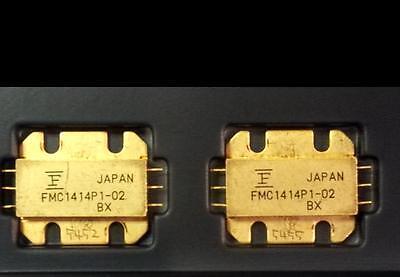 One New Fujitsu Fmc1414p1-02 14.000 - 14.5000 Ghz Microwave Gaas Fet