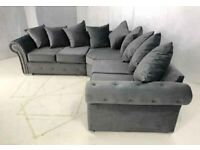 🟡🔵 Beautiful Maryland Fabric Sofas - Adorable Sofas in Finest Quality - Available in High Back to
