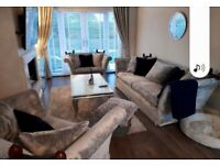 Laura Ashley sofa and two large chairs