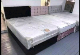 ♥️Beautiful fabric beds!!!FREE DELIVERY 🚛🚛