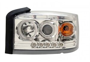 Anzo 2005-2006 Dodge Dakota Projector Headlights - Chrome