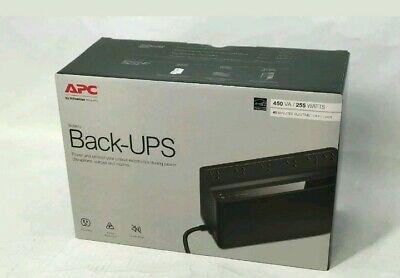 Nuevo APC Por Schneider Eléctrico Copias de Seguridad Batería 6 Salidas, 450VA,