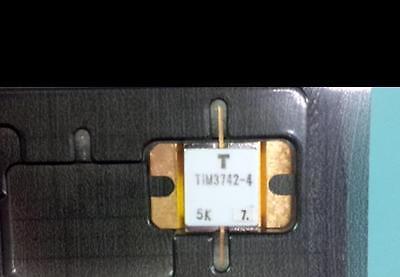 One New Toshiba Tim3742-4 C Band Gaas Rf Power Jfet