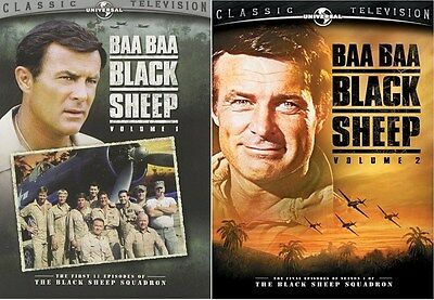 Baa Baa Black Sheep: Volumes 1 & 2 Bundle [DVD Set, Region 1, 5-Disc] NEW