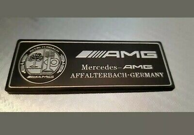AMG Affalterbach - Schwarz / Emblem / Aufkleber für Mercedes-Benz - NEU