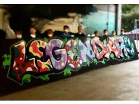 GRAFFITI WORKSHOP - LET´S GET CREATIVE IN CARDIFF