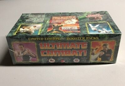 (1) Ultimate Combat Martial Arts Limited Edition Booster Box TCG CCG cards
