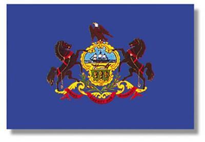 Pennsylvania State Flag 3' x 5', 100% Nylon, Annin Flag