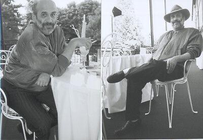 2 Fotos vom deutscher Sänger DRAFI DEUTSCHER - Vintage von 1993 - SW Pressefoto