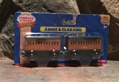 Fisher-Price Thomas & Friends Wooden Railway Annie and Clarabel