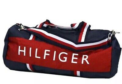 TOMMY HILFIGER Duffeltasche-Reisetasche-Sporttasche Robust Sportlich Gross Top! gebraucht kaufen  Dielheim