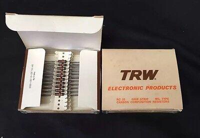 1//5//10//25//100 Piece TRW Carbon Comp Resistor You Choose Resistance 2W 5/%