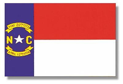 North Carolina State Flag 4' x 6', 100% Nylon, Annin Flag