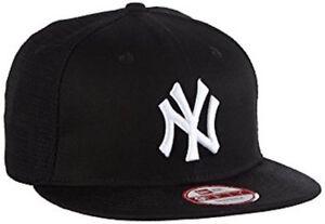 New Era 9FIFTY MLB New York Yankees Cotton Block Mesh Snapback Cap Hat M/L (O12