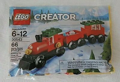 Lego Creator 30543 Christmas Holiday Train 66 Pcs Polybag New Retired