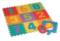 Tappeto Puzzle Morbido 10 Pezzi Numeri Colorati Gioco Bambini 31x31cm -  - ebay.it
