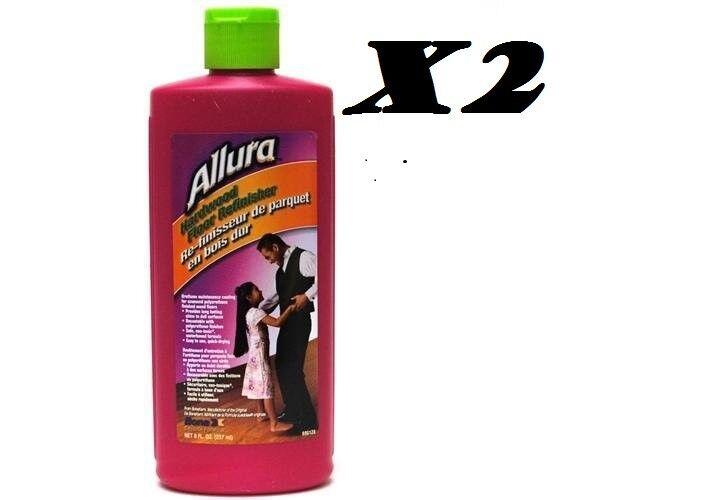 Allura Hardwood Floor Refinisher 8oz. Bottle