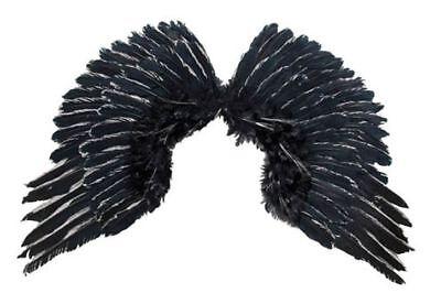 Engelsflügel schwarze Engel Flügel zum Teufel Kostüm