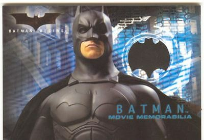 Batman Begins Memorabilia / Costume Card Batmans Costume [Rare]