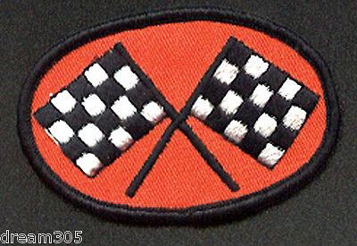 Vintage Harley Race Patch WR KR XR CR Motorcycle Racing Flags Flathead Badge