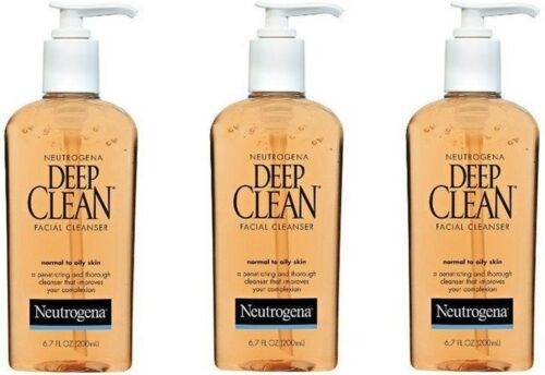Neutrogena Deep Clean Facial Cleanser Normal to Oily skin, 6